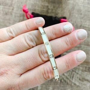 Kate Spade Enamel Hinged Bracelet